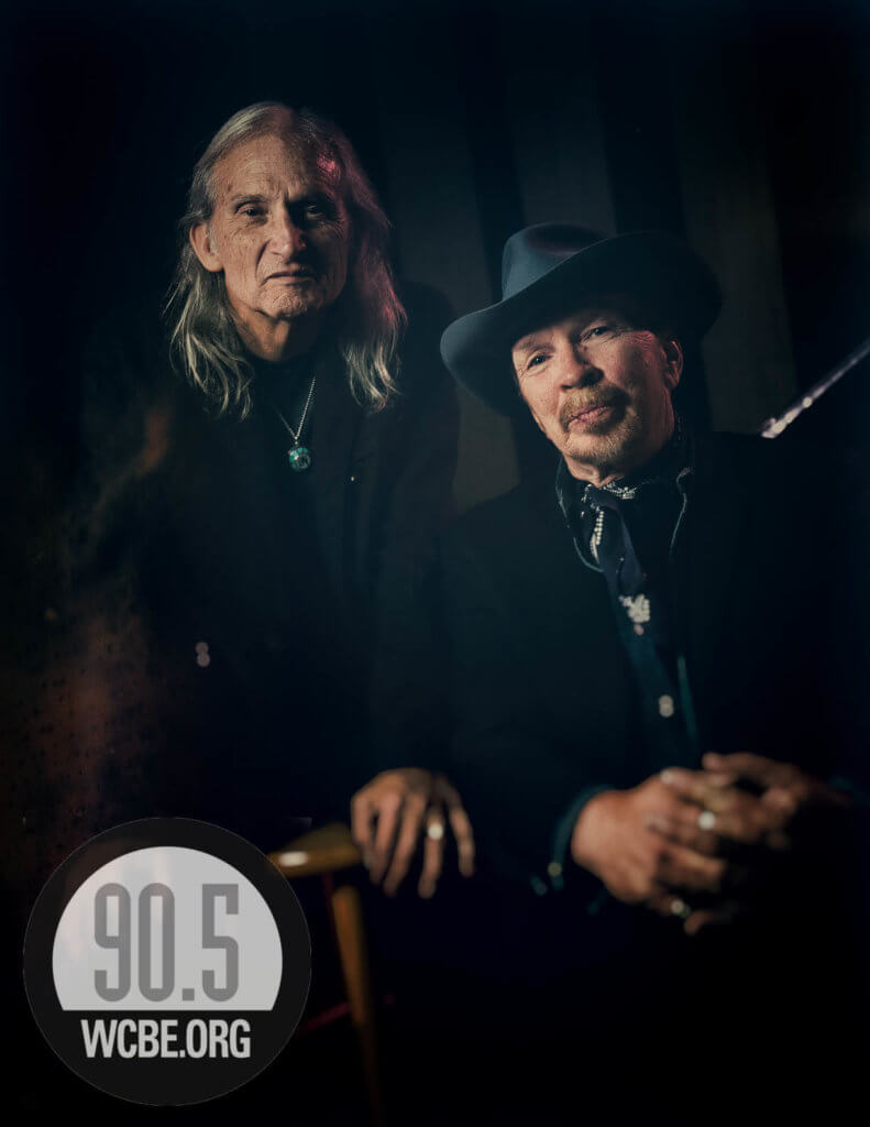 Dave Alvin and Jimmie Dale Gilmore closeup