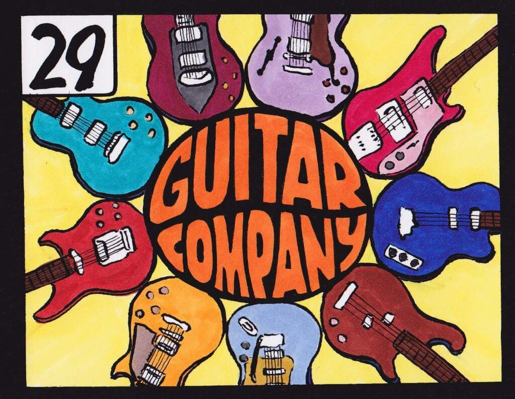 Guitar Company illustration