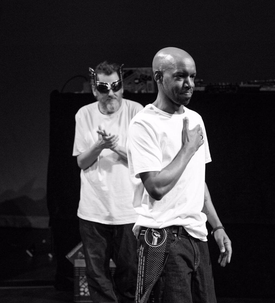 Krate Digga and DJ Bombay