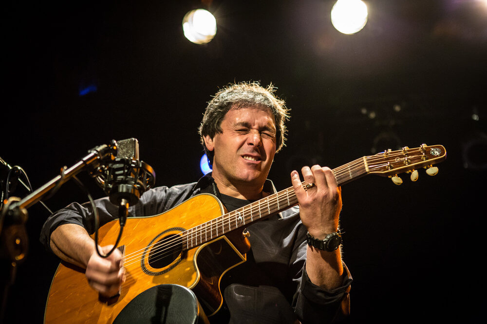 Peppino D'Agostino performing
